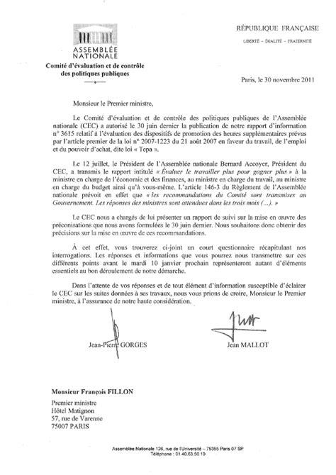 Lettre De Satisfaction Entreprise N 176 4220 Rapport D Information De Mm Jean Gorges Et Jean Mallot D 233 Pos 233 En Application