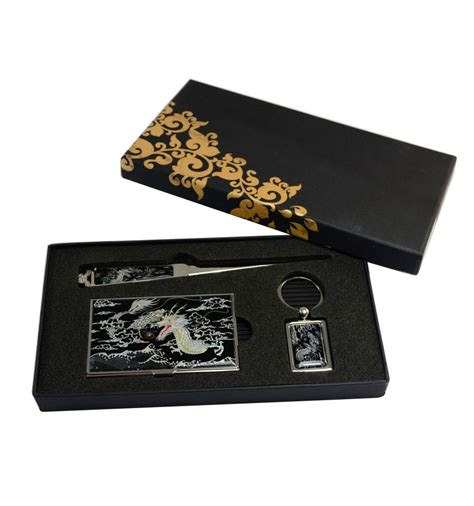 cadeau bureau coffret cadeau pour le bureau set 3 elements nacr 233 s