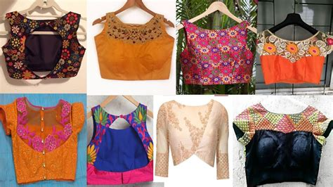 boat neck front designs boat neck blouse designs front and back youtube