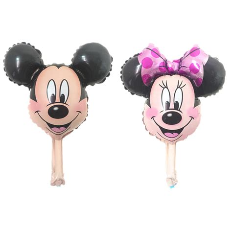 Balon Foil Pentungan Mickey Minnie 1pcs mickey mouse balloon birthday supplies