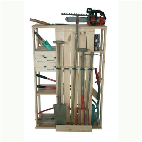 armoire rangement outils rangement outils jardinage