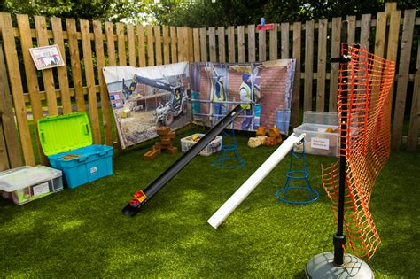 St Matthew's Stretton Pre School Group Outdoor Play Area