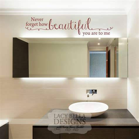 bathroom mirror decals 60 best images about bathroom decals on pinterest