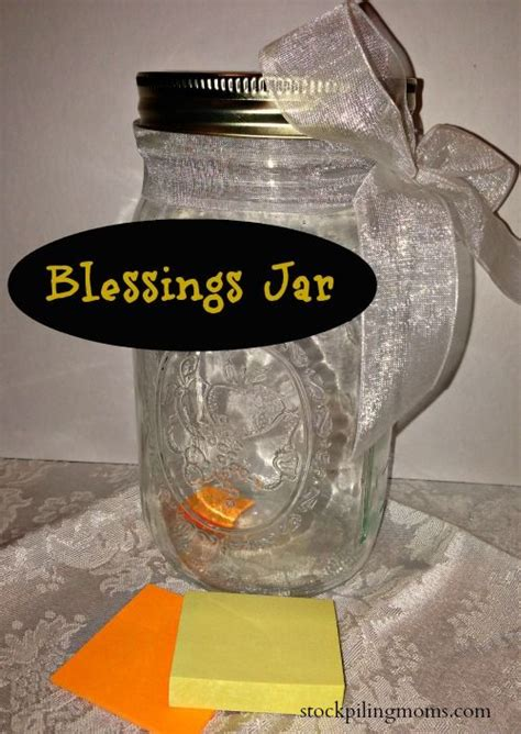 Wedding Blessing Jar by Blessings Jar A Great Way To Start The New Year Or