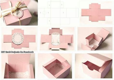 Handmade Gift Box Ideas - a box of gift box templete