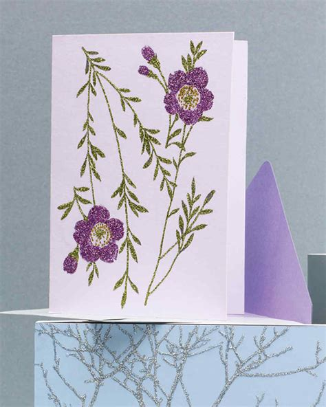 handmade s day card projects martha stewart