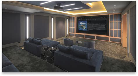 home theater systems media room sports