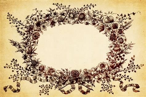 Home Made Decoration Things vintage floral background texture oh so nifty vintage