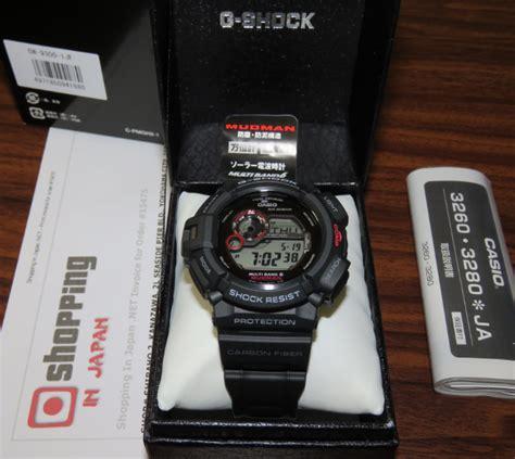 G Shock Gw 9300 Black brand new gshock mudman carbon fiber gw 9300 1jf atomic