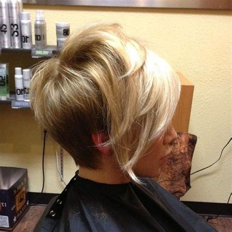 shorter back longer front bob hairstyle pictures 15 inspirations of long front short back hairstyles