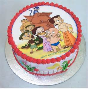 order chhota bheem cartoon cake from yummycake at best price