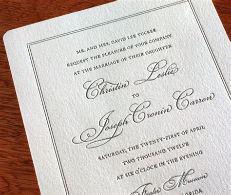On Wedding Invitation Whose Name Is including parents names in invitation wording