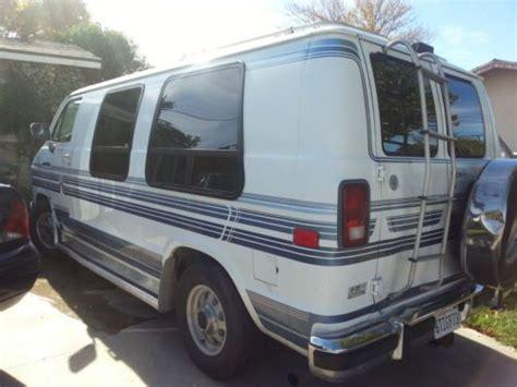 find used 1993 dodge ram 250 van conversion in rialto california united states