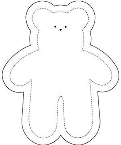 sewing templates free sweet soft toys try our teddy sewing pattern