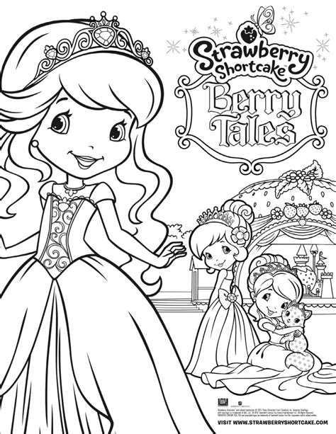 princess mighty friends coloring book a book to color books strawberry shortcake berry tales coloring sheet