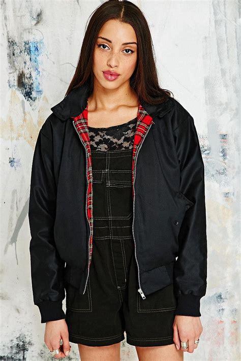 renewal vintage surplus black harrington jacket outfitters vintage and inside out