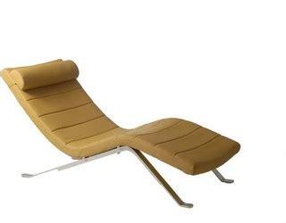 modern chaise longue uk eurostyle gilda leatherette chaise lounge in saffron