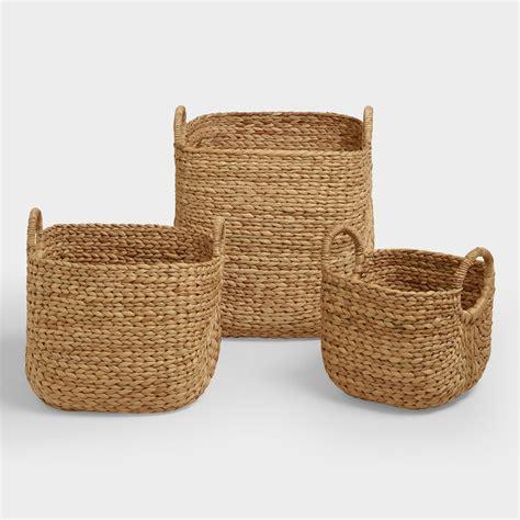 baskets for aimee arrow baskets world market