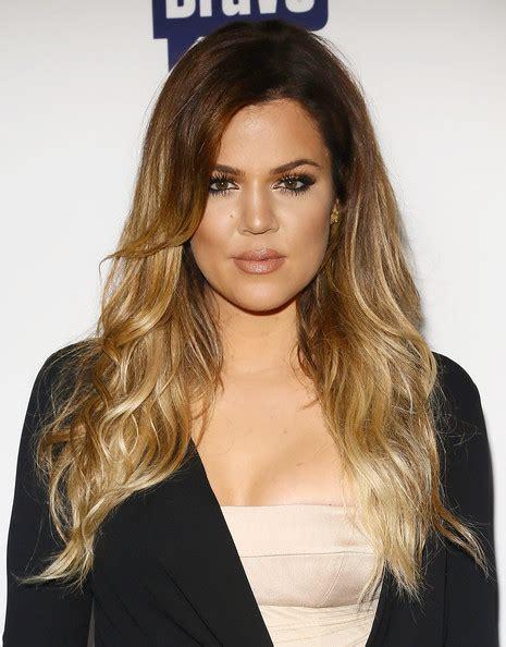 khloe kardashians ombre hair expert tips to get the look khloe kardashian ombre hair ombre hair lookbook