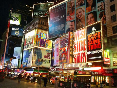 times square billboards i love the busyness and