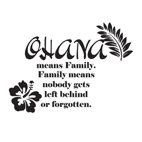 the forgotten of what means and why it matters books adesivi da parete stitch quot ohana means family family means