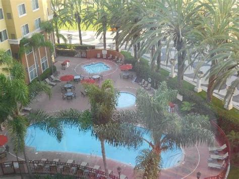 Garden Grove Ca Residence Inn View From Suite Window Picture Of Residence Inn Anaheim