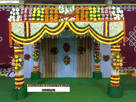flower decoration images aamani flower decoration works hyderabad andhra pradesh