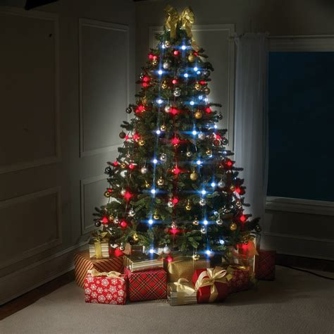 led lights on christmas trees reviews decoratingspecial com