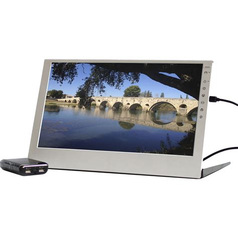Monitor Lcd Mobil gechic 2501bp 15 6 quot lcd monitor with portable 2501bp b h