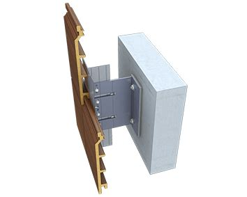 Fixing Shiplap Cladding by Ventilated Facade Concealed Fixing