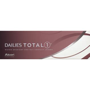buy dailies total 1 (30 lenses) contact lenses by alcon