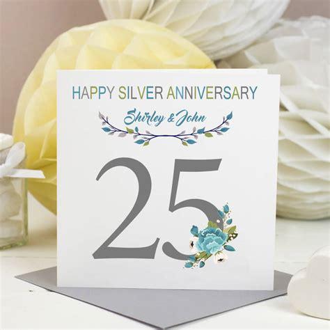 Silver Wedding Anniversary Song Lyrics by Silver Wedding Anniversary Card By Designs