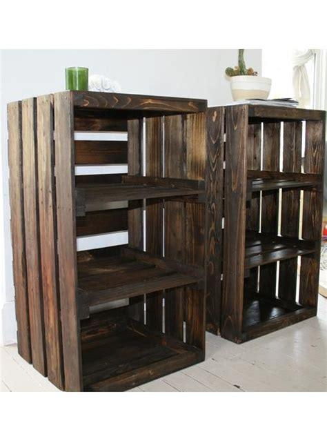 scaffali e librerie design legno libreria scaffale cassette di frutta petrarca xlab