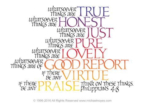 think on these things intentional thoughts with scripture books think philippians 4 8 calligraphy plaques