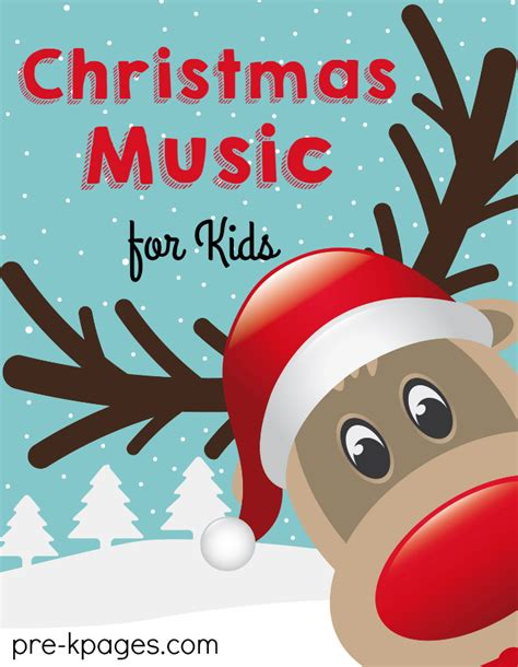 christmas music for preschool kids pre k pages