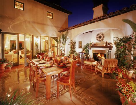 intimate courtyards add character  coziness  private