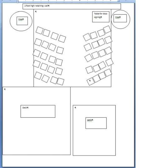 wedding reception layout for mc backyard wedding ceremony reception turn over weddingbee