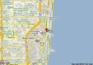 map of boca raton plaza hotel and suites boca raton