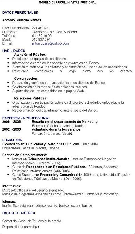 Modelo Curriculum Vitae Completo Curriculum Vitae Completo Curriculum Vitae