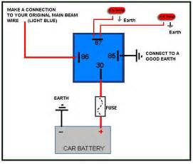4 pin relay wiring diagram diagram