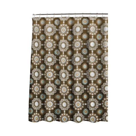 Roller Shower Curtain Rings Ideas Creative Home Ideas Oxford Weave Textured 70 In W X 72 In