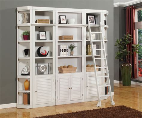 contemporary bedroom design ideas white library bookcase