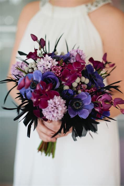 purple flower wedding bouquet photos pretty to miss purple wedding bouquets mon cheri bridals