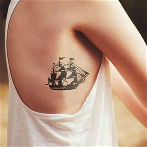 small ship tattoos best 25 pirate ideas only on pirate