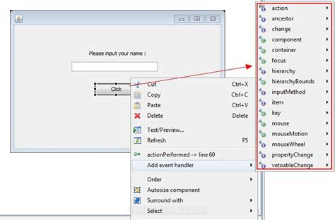 eclipse swing tutorial computer2know eclipse เข ยน java gui ด วย windowbuilder