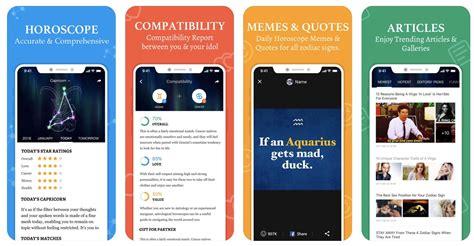 astrology  horoscope apps  iphone