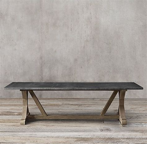 railroad tie rectangular dining table dining room