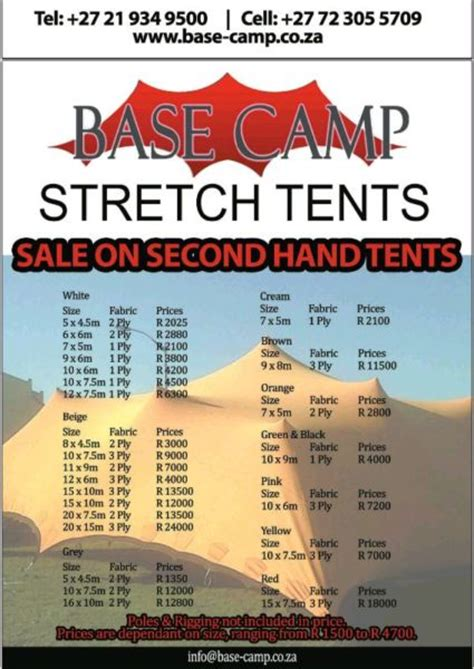 Bedouin stretch tents   Clasf