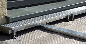 terrasse entwässerungsrinne entw 228 sserungsrinne terrasse dekor ideen design