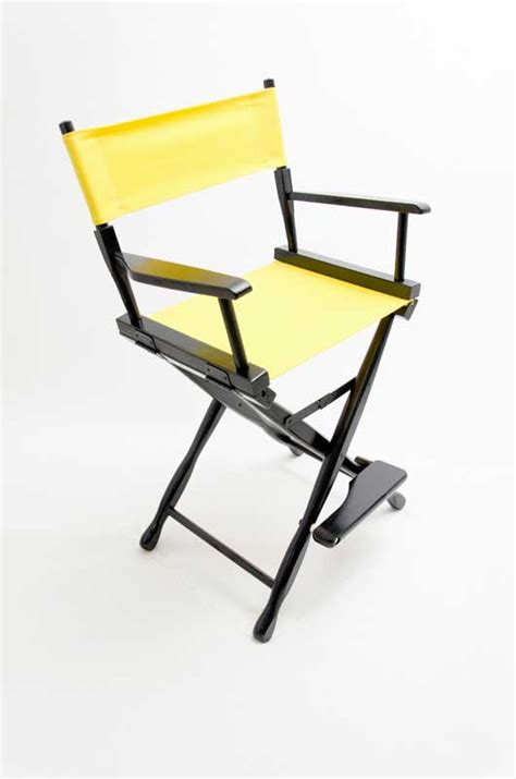 yellow directors chair gold medal directors chair classic black 24 quot yellow canvas